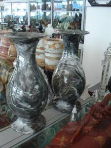 China decorative stone vase made in china on sale