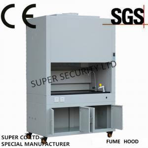 China Lab Laminar Chemical Fume Hoods Glass Window Electrical Controlled Glass on sale