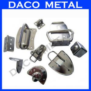 China Aluminium Sheet  Metal Stamping metal punching Spare Parts on sale