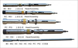 China Wireline Double Core Barrel Q Series Head Assembly And Overshot Assembly on sale