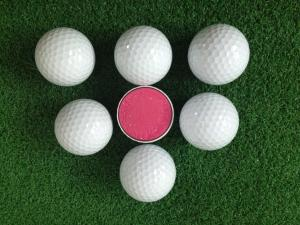 China 2015 New Product Bulk Urethane covered 3-layers Tournament Golf Ball on sale