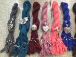 2012 самых новых шикарных шарфа ювелирных изделий с шкентелем смешивания цвета смешивания шарфа ожерелиь шармов 180КМ