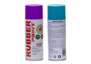 China Exterior Hard Wearing Rubber Spray Paint Purple For Car Rims Low Chemical Odor on sale