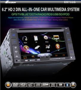 China Erisin ES732G 6.2&quot ; écart-type stéréo de Nav TV iPod USB de radio de la voiture 3D on sale