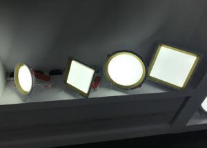 China Anti Glare LED Slim Panel Light 24w Round Square Side Lighting 90Lm/W new product aluminum on sale