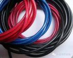 Zinc Plated Nylon Coated Wire Rope AISI Standard Steel For Mining Cableway