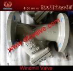 Y-filtro do aço carbono de API/ANSI/DIN - válvula do moinho de vento