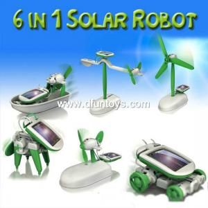 China dt-ks1402011 6 in 1 Solar Robot on sale