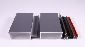 China Manufacturer Anodized Aluminum Profile Silver Champagne Black on sale