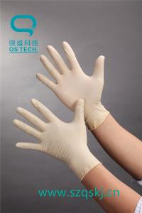China Industrial latex gloves that can be bought on the Internet with a good quality of a latex material on sale