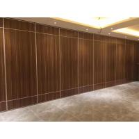 Customized Color Acoustic Room Dividers , Hotel Moveable Partition Wall