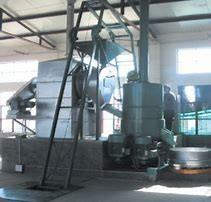 China Coated Resin Sand Mixing Machine With Cooling Conveyor High Production Capacity on sale