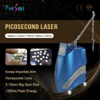 Unique Real Pico! Usa Lambda Honeycomb Lens Tattoo Removal Pico Laser For Wrinkles Acne Scars Treatment
