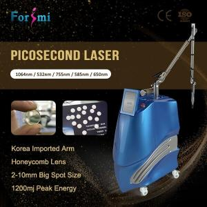 China Unique Real Pico! Usa Lambda Honeycomb Lens Tattoo Removal Pico Laser For Wrinkles Acne Scars Treatment on sale