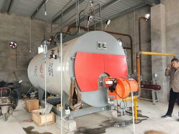 3 ton Fully Automatic Diesel Oil Gas Fired Horizontal Steam Boiler ...