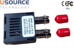 Quality 1000 Base-Bx Gigabit 1 X 9 Optical Transceiver Duplex ST SC FC Connector for sale