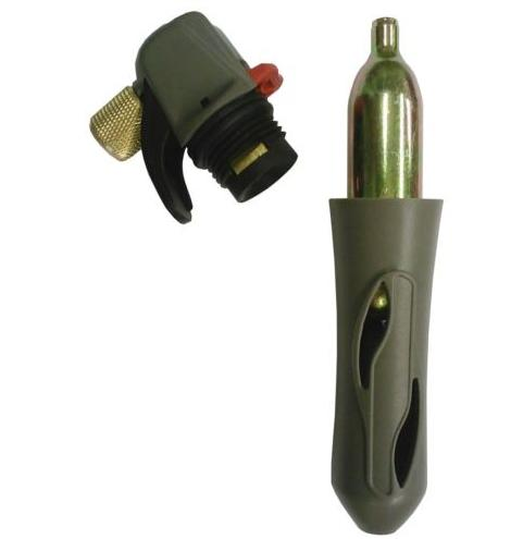 Portable Co2 Charger With Tap,line And Ball Lock Connectors Uses A Threaded 16g