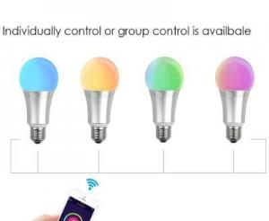 China Dining Room Smart Wifi LED Bulb Colour Changing Light Bulb App For Smart Led Bulb on sale