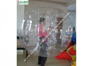 China Grande boule gonflable extérieure transparente de hamster pour des humains/personnes on sale