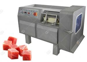 China Commercial Use Meat Processing Machine , Meat Dicing Machine Automatic Operation on sale
