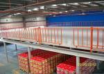 Pisos de entresuelo industriales de la estructura de acero de Warehouse, plataforma del almacenamiento del entresuelo