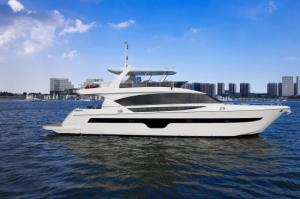China 85 ft Luxury Motor Yacht with Flybridge on sale