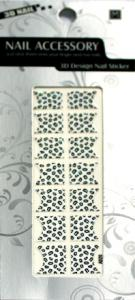 China ODM Removable Custom Glitter Beauty Manicure French Nail Stickers With Skin Ceramic on sale