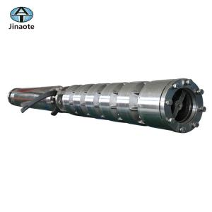 China Stainless steel submersible deep well pump with electric cable on sale