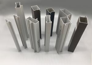China Silver Anodized Custom Aluminium Extrusion Structural Aluminum Profiles on sale
