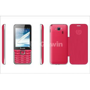 China Rosy Dual Sim Cards Dual Standby Phone 800mAh , Support Bluetooth and USB on sale