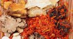 Dried raw herb material slices, dang gui, huang qi, bai zhu, shan yao, ren shen etc.