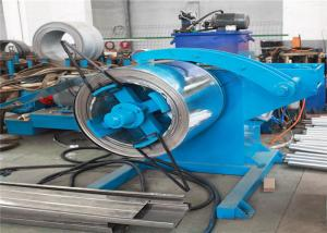 China Full Automatic C Stud Roll Forming Machine 70mm Roller Axis Servo Motor Driving on sale