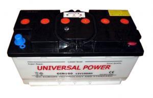 China Professional 12 volt Lead Acid DIN100 electric vehicle batteries on sale