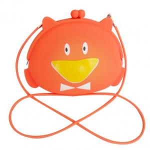 China Silicone Girls Handbag Girls Silicone Handbag with strap on sale