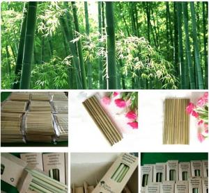 China Organic Reusable Hand-Crafted Natural Eco Bamboo Drinking Straws,Natural Bamboo Drinking Straws with customized logo pac on sale