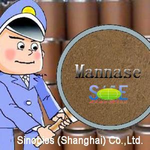 China Enzyme Feed Additive Beta Mannase Powder 50,000u/g Szym-MA50FE(A) for Animal Nutrition on sale