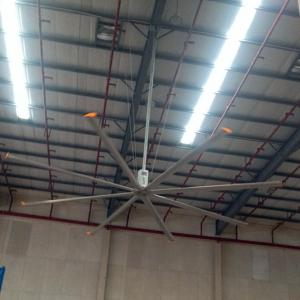 China 24ft HVLS Air Cooling Industrial Big Ceiling Fan on sale