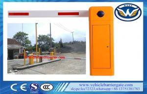 China Adjustable Speed Vehicle Access Barriers Motorized Systems CE ISO Certification on sale