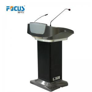 China FK500Y Podium Built-in Loudspeaker & Amplifier, LED light, Auto lift, Touch AIO PC/Writable Screen 21.5, Steel+ABS plas on sale