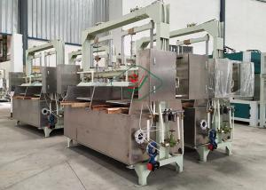 China Semi-automatic Reciprocating Pulp Egg Tray Making Machine With Double Cylinder on sale