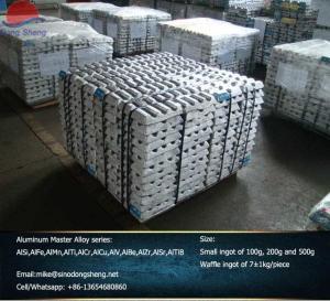 China Fabricant en aluminium de durcisseurs d'alliage principal d'AlSi AlMn AlFe AlCr AlTi AlCu AlZr AlSr AlTiB on sale