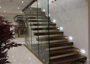Quality Internal Solid Wood Modern Floating Stairs For Sale ...