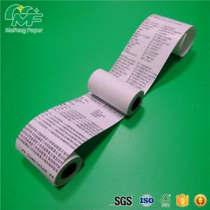 China thermal paper roll 57 x 50 used for atm machine on sale