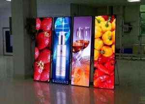 China Ultra Thin P3 Outdoor LED Display , LED Poster Display For Chain Store on sale