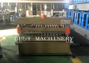 China 836mm Corrugated Sheet Roll Forming Machine 380v 2 Years Warranty on sale