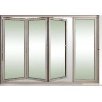 Toughened Collapsing Sliding Glass Doors / Bi Folding Sliding Doors