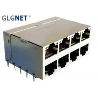 GLGNET 2X4 10G RJ45 ICM Connector with Light pipes CAT6 Cable for 5G Network