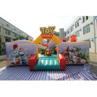 China Cartoon Character Toy Story Inflatable Fun City For Children In Amusement Park on sale