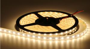 China Warm White DC24V Outdoor Led Strip Lights / Led Lamp Tape IP68 on sale