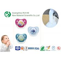 China Liquid Silicone Rubber For Baby Nipples, Bottles Injection Molding 2 Part LSR 6250 - 60 With LFGB on sale